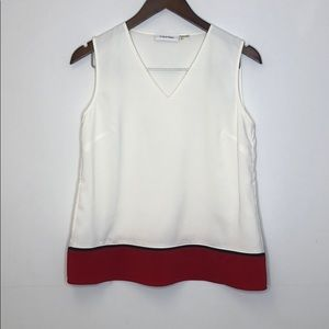Calvin Klein Top Blouse Small Beautiful